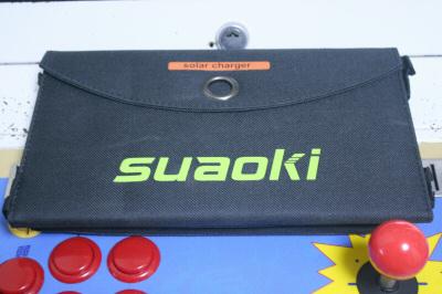 suaoki 20Wソーラーバッテリー充電器