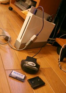 Wiiにアドバンスコネクタを接続