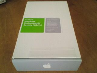 macbookバッテリー箱