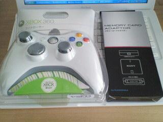 Xbox360有線コントローラ