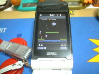 N902iXでバルーンファイト