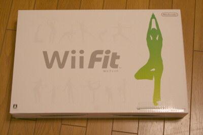 Wii Fit箱