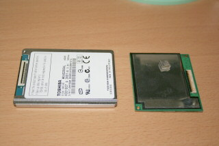 TypeU SSDとHDD