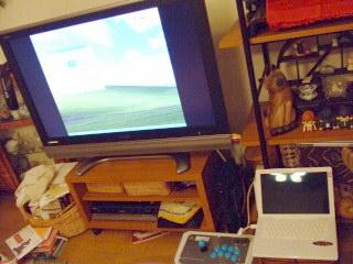 AQUOSにMacBookを繋ぐ